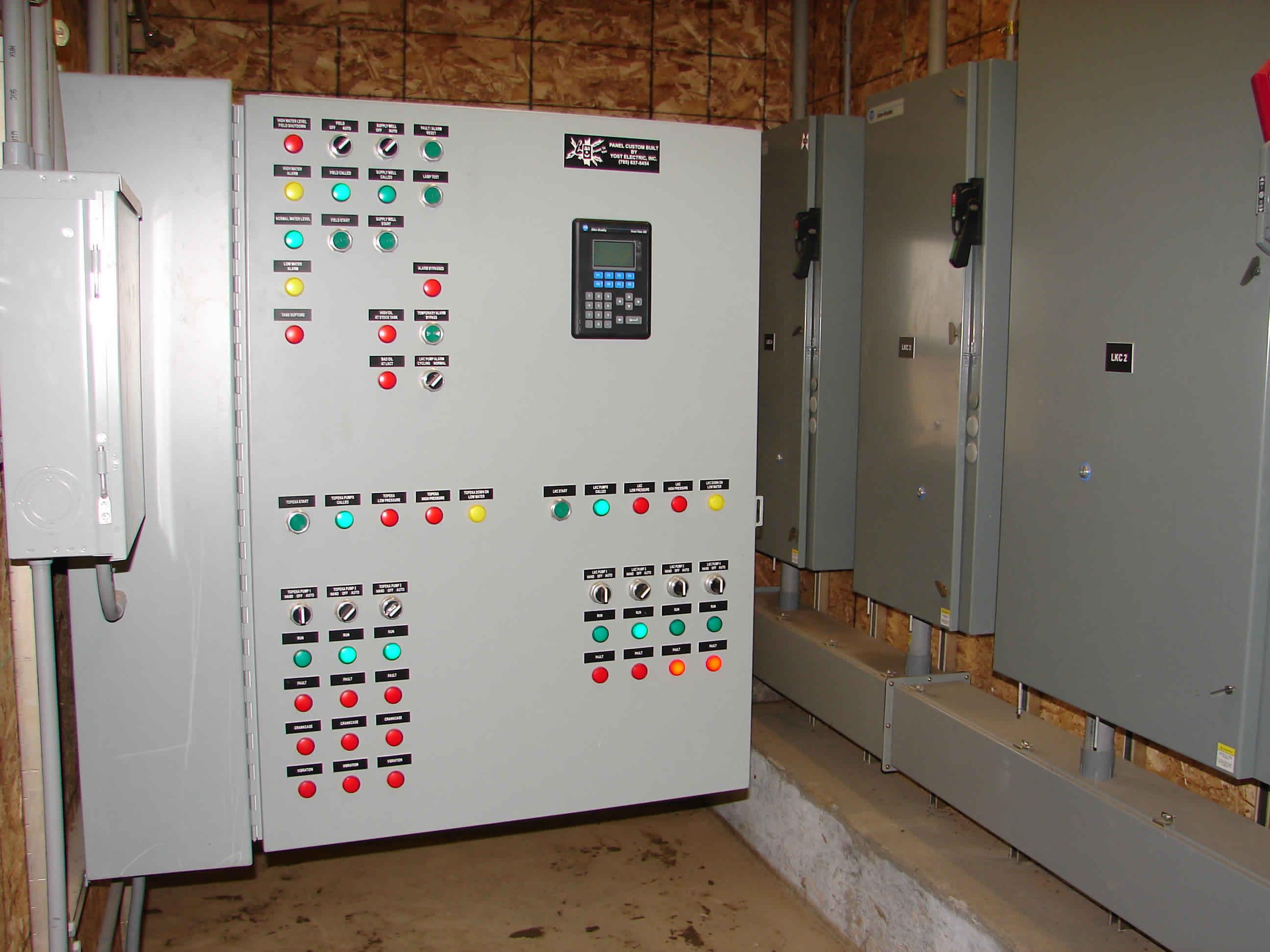 Yost Electric, Inc   Salt Water Transfer Pumps