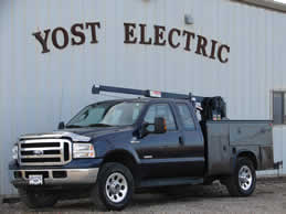Yost Electric Service Truck